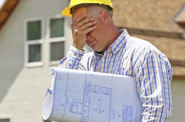 проблема со строительством