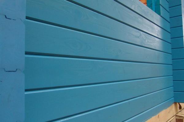 краска для дома из бруса
