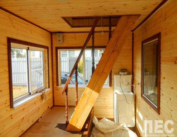 Как сделать в деревянном доме пристройку к.