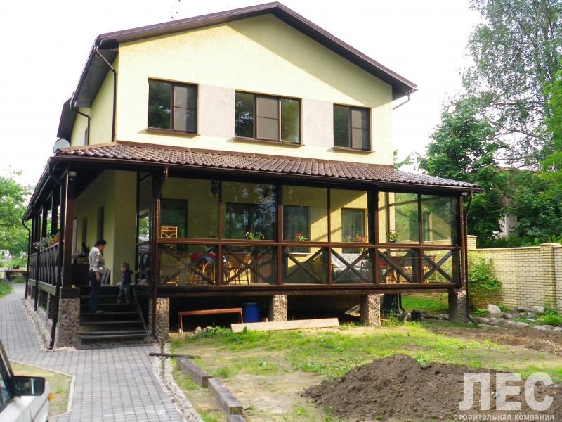 Веранды и террасы пристроенные к дому своими руками
