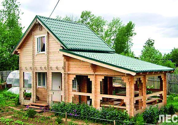 Как строить дачный дом