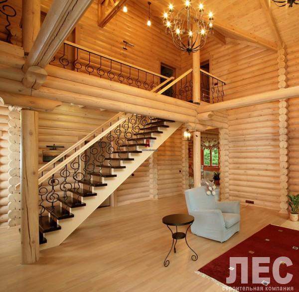Внутренняя проводка деревянного дома