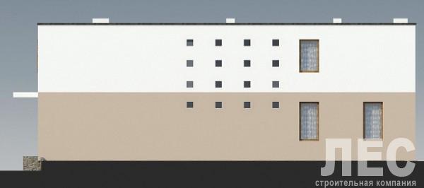 Типовой проект коттеджа ТК-225 (17,2x15,2 м)