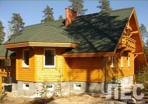 Дом из бруса ДБ-256 (11,7x15,1 м)