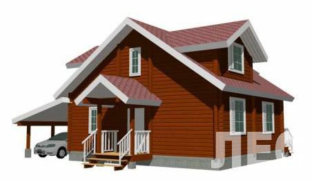 Дом из бруса ДБ-144 (12,0x10,5 м)