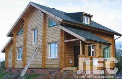 Дом из бруса ДБ-150 (8,5x11 м)