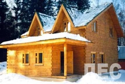 Дом из бруса ДБ-136 (8,00x11,00 м)