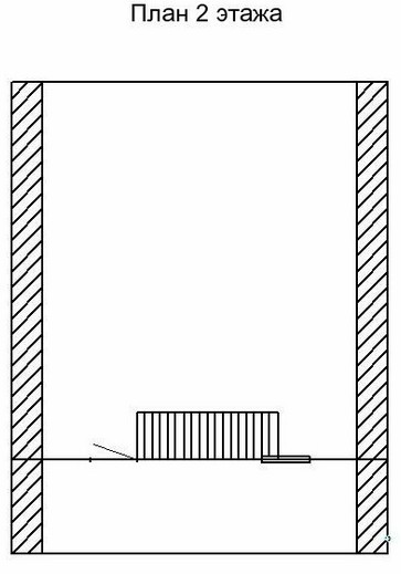 Садовый дом СД-25 (6,0x6,0 м)