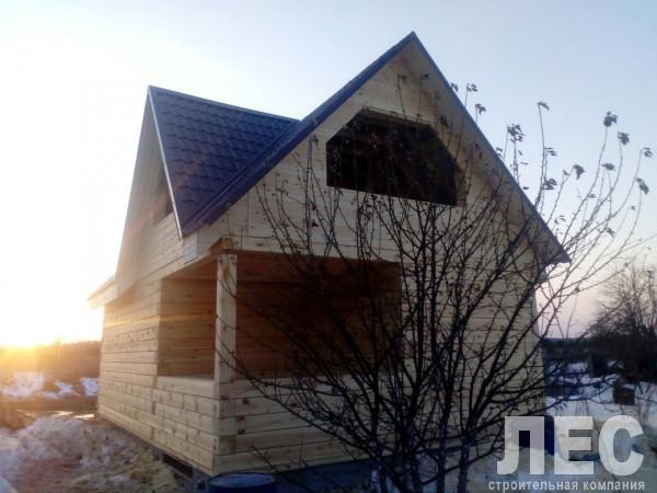Дом 6х9 м из бруса