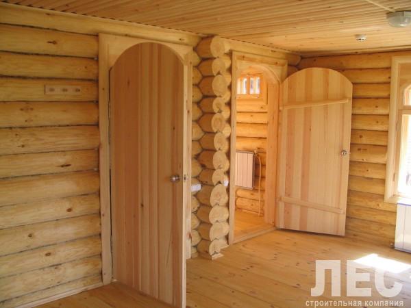 Рубленная баня под рубанок 6х9 м