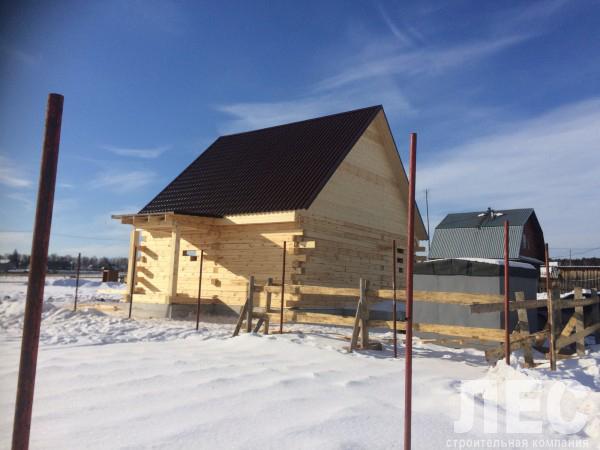 Дом из строганного бруса 150х200 мм