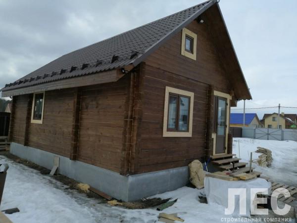 Дом из бруса 150х200 мм, 6х10 м