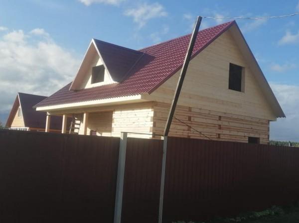 Дом из бруса 150х200 мм. 8х11.