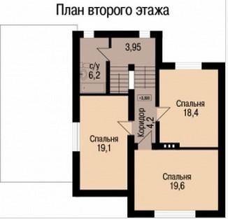 Кирпичный коттедж КК-176 (11,52 x14,06 м)