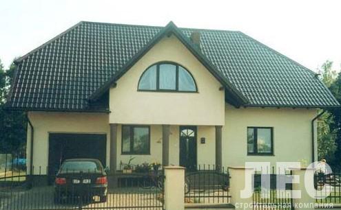 Дом из пеноблоков ПБ-316 (10,3x13,7 м)
