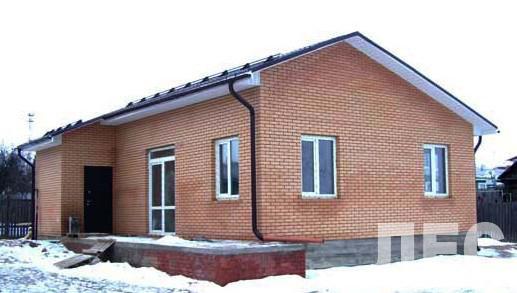 Дом из пеноблоков ПБ-53 (9,0x10,0 м)