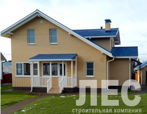 Дом из пеноблоков ПБ-123-2