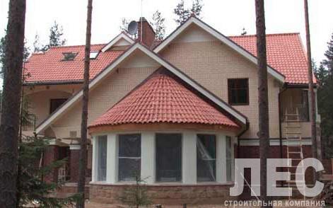Дом из пеноблоков ПБ-514  (18,9x20,7 м)