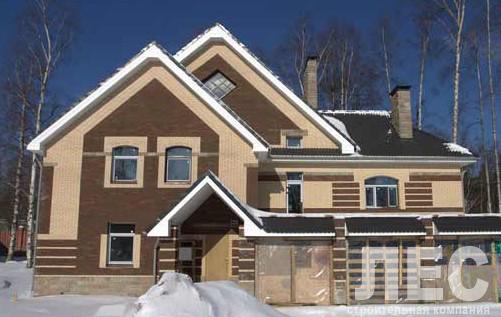 Дом из пеноблоков ПБ-345 (16,4x12,2 м)