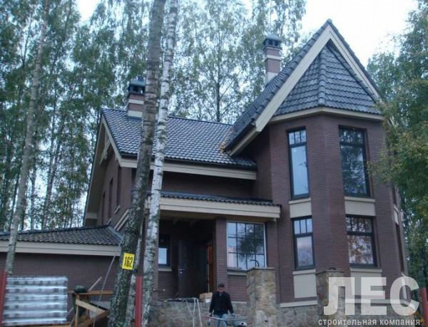 Дом из пеноблоков ПБ-168 (13,8x9,9 м)