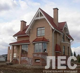 Дом из пеноблоков ПБ-174 (10,20x12,60 м)
