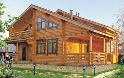 Дачные дома из дерева